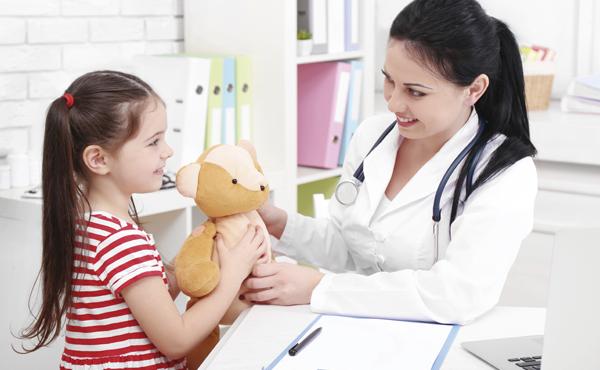 Atención sanitaria en pediatría
